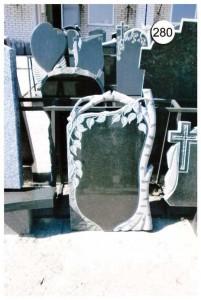 Стандартная стелла с резной работой №280