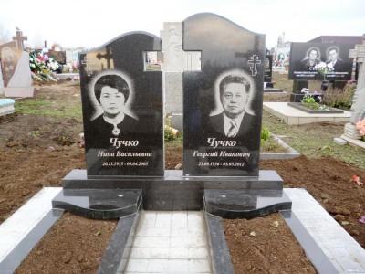 Памятники из гранита на могилу супругам фото