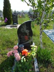 Памятник из гранита младенцу на могилу