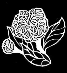 Гравировка цветка ЦВ16